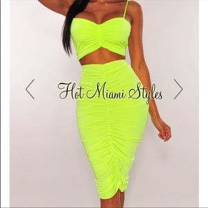 Hot Miami styles two piece outfit
